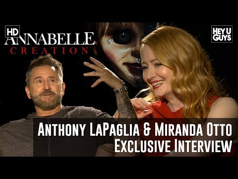 Anthony LaPaglia & Miranda Otto Exclusive - Annabelle: Creation Movie Interview