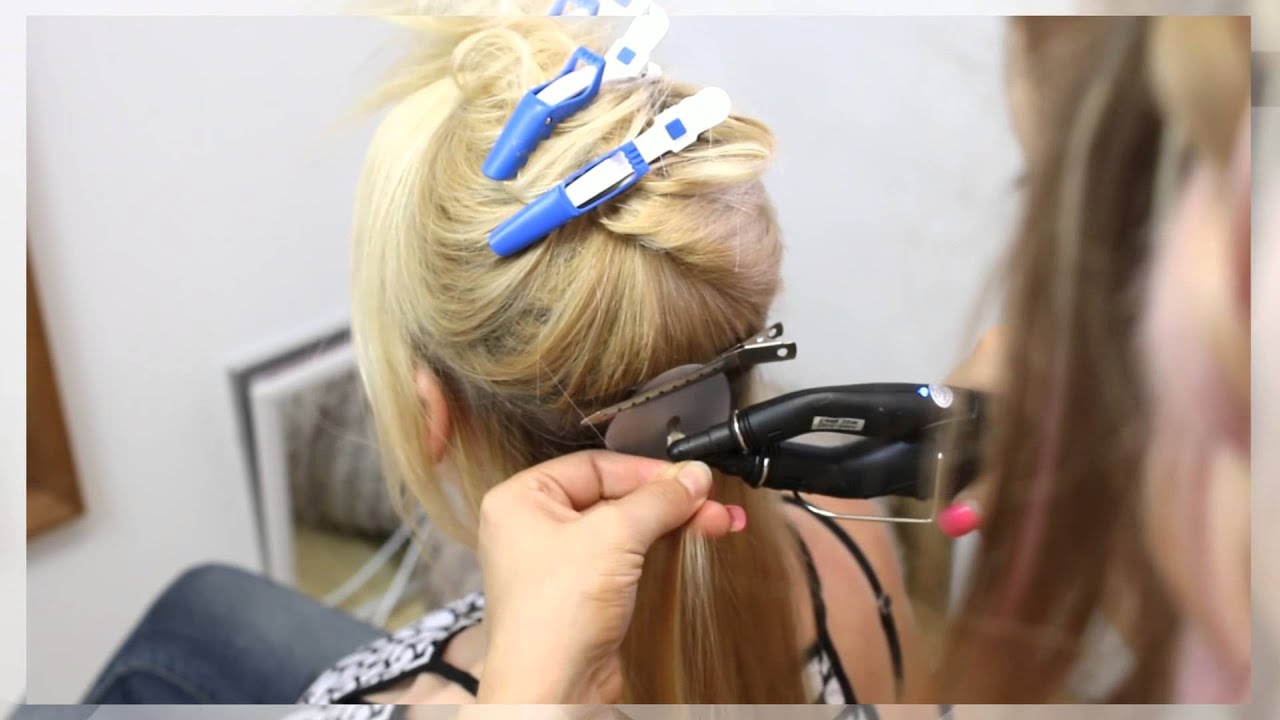 How To Remove Keratin Bond Extensions Plus New Hair Application