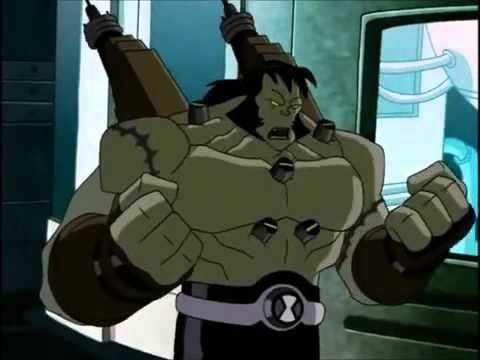 Ben 10 Frankenstrike Transformacion Youtube