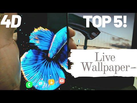 Top 5 4D Live Wallpaper Apps | MUST WATCH | 🔥🔥🔥