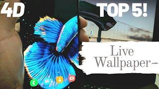 Top 5 4D live wallpaper apps | MUST WATCH | 🔥🔥🔥 screenshot 4