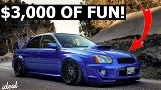 BEST FIRST CARS FOR UNDER $3,000!