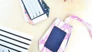 BEST DIY Luggage Tags Sewing Tutorial