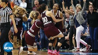 Mississippi State buzzer beater ends UConn's 111-game win streak | 2017 Final Four