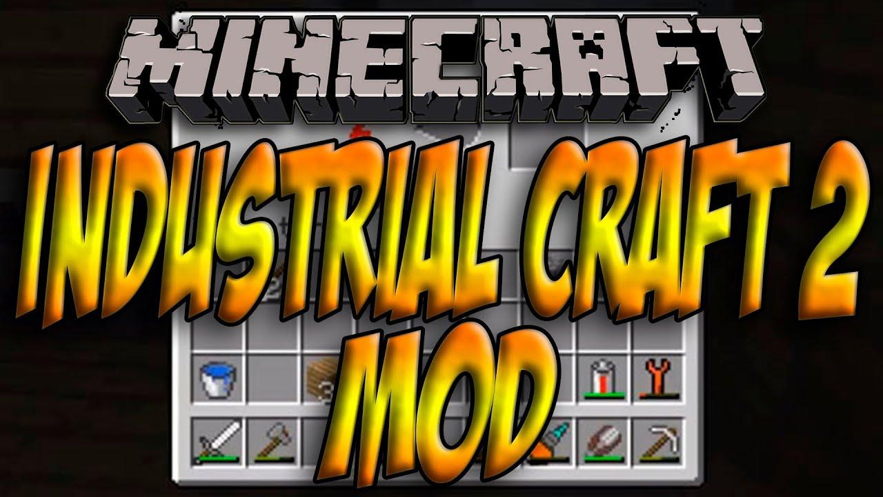 Скачать мод industrial craft 2 на 1.7.2