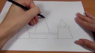 Обучающее видео для детей УЧИМСЯ РИСОВАТЬ ЗАМОК. Рисуем КАРАНДАШОМ ПОЭТАПНО ЗАМОК и разукрашиваем.(Обучающее видео для детей - УЧИМСЯ РИСОВАТЬ ЗАМОК. Рисуем карандашом ПОЭТАПНО ЗАМОК и разукрашиваем его...., 2015-12-18T16:25:08.000Z)
