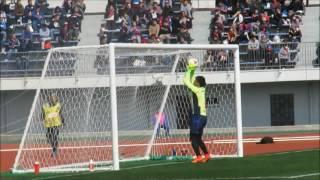 J3 第1節 FC東京U-23xカターレ富山【0-2】 2017.03.12 江東区夢の島...