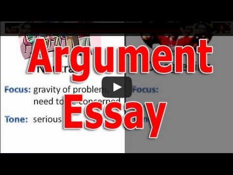 how to write an argument essay a persuasive paper with arguments  how to write an argument essay a persuasive paper with arguments  youtube