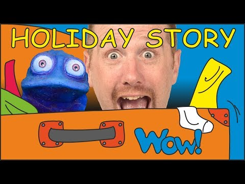 Holiday Story with Clothes NEW. Stories for Kids from Steve and Maggie with Bobby   Wow English TV