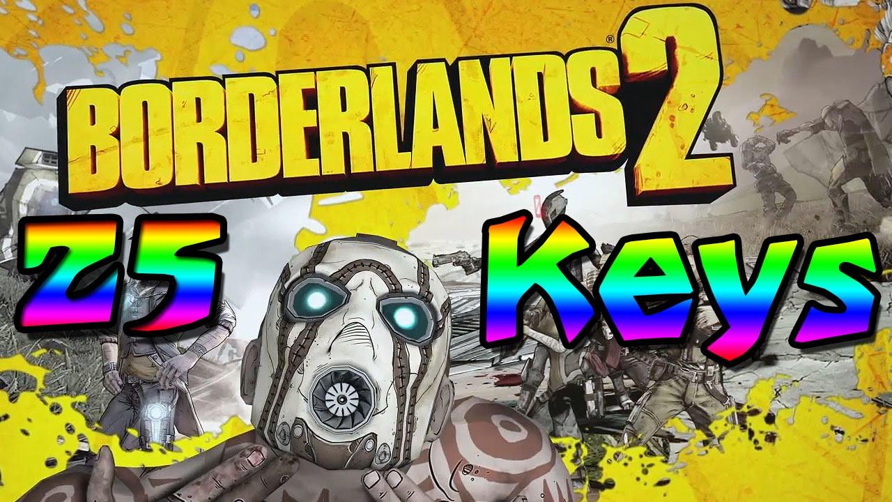 """Borderlands 2!! - 25 GOLDEN KEYS!! """"SHiFT Code"""" - YouTube Borderlands 2 Golden Key Shift Codes"""