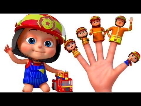 Firefighter Finger Family And Many More  Finger Family Songs  gyan 3D Rhymes