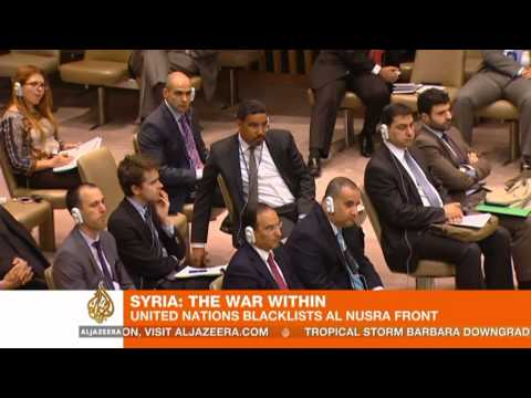 United Nations blacklists Syria's al Nusra Front