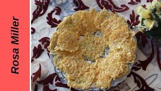КЕТО - Чипсы из сыра. Перекус. Вкусная закуска на каждый день.