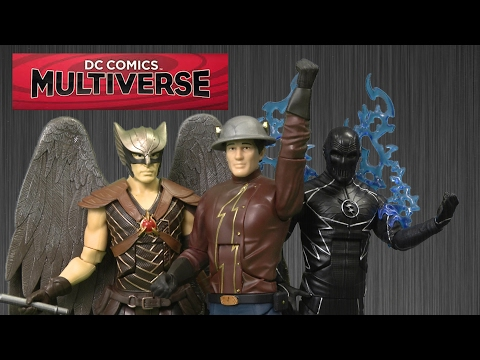 DC Comics Multiverse The Flash TV Series Earth-2, Zoom & Legends of Tomorrow Hawkman from Mattel