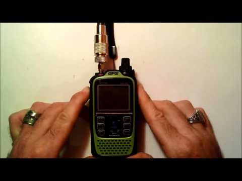Icom D-star demonstration through repeater