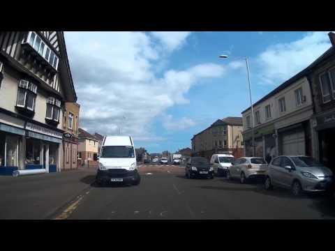 May Drive Through Methil Fife Scotland