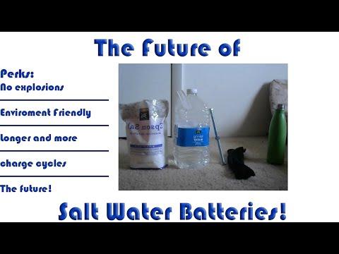 DIY Rechargeable? 1v Epson Salt Water Battery!