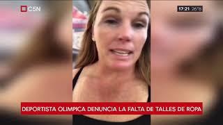 La atleta argentina que sufre porque no encuentra talles
