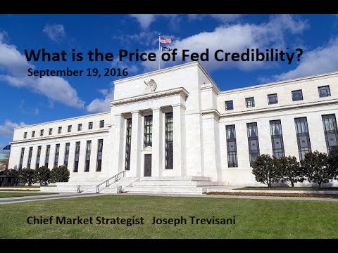 WorldWideMarkets - What is the Price of Fed Credibility? September 19, 2016