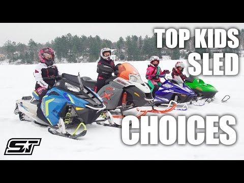 Youth Snowmobile Rundown
