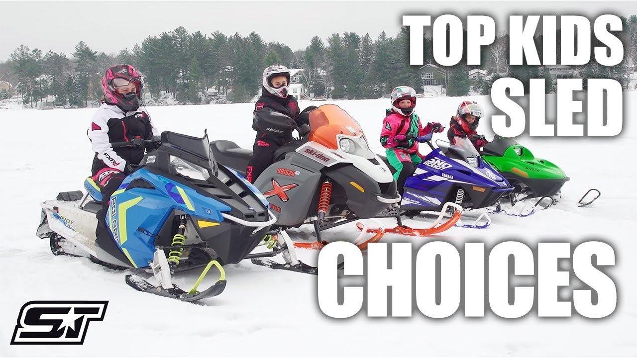 SUPERTRAXMAG COM - Youth Snowmobile Rundown