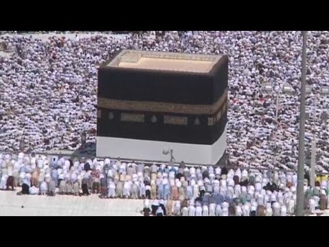 The Hajj begins in Mecca