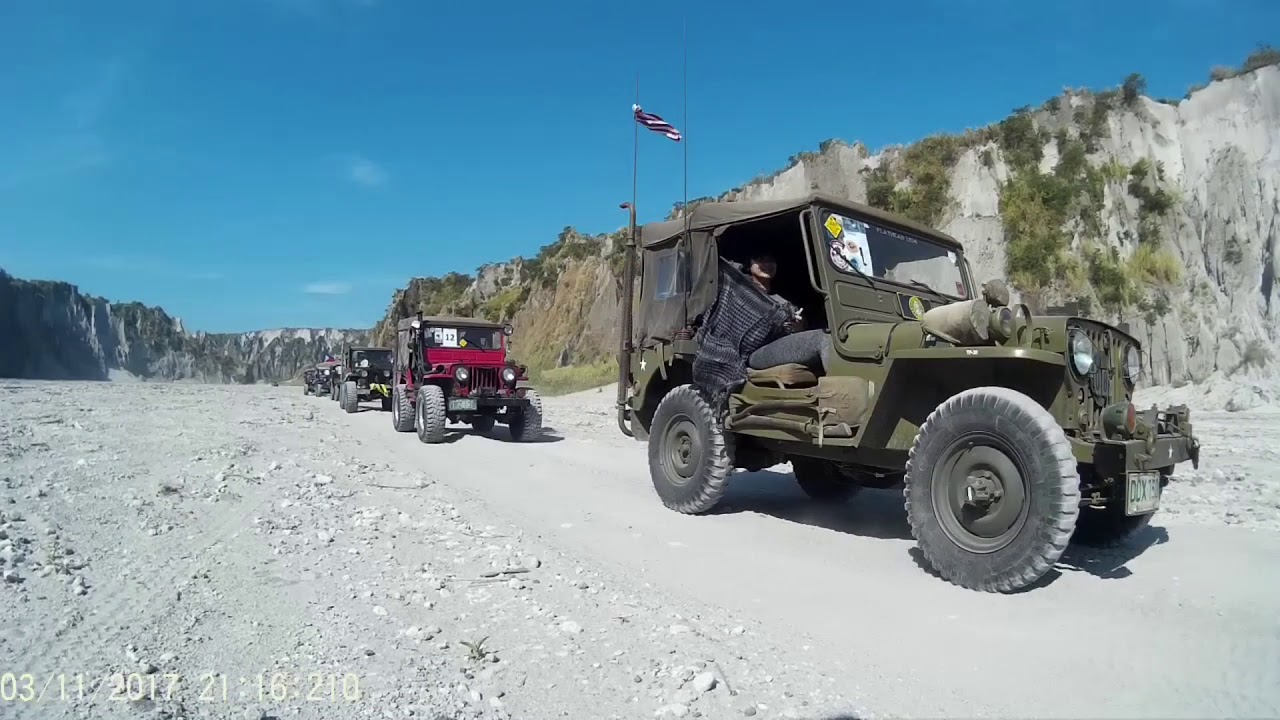 5th MVCCP Mt. Pinatubo Jeep Trek...Philippines