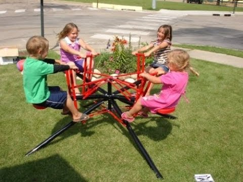 merry go rounds for backyards