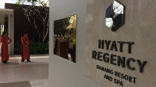 Hyatt Regency nơi ở của Tổng thống Trump tại Đà Nẵng