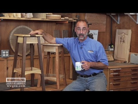 Woodworking Stool Sample