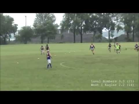 West Island Eagles v Laval Bombers (AFL Quebec, Round 3 2013)