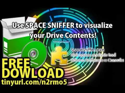 How to find lost disk space easily with space sniffer