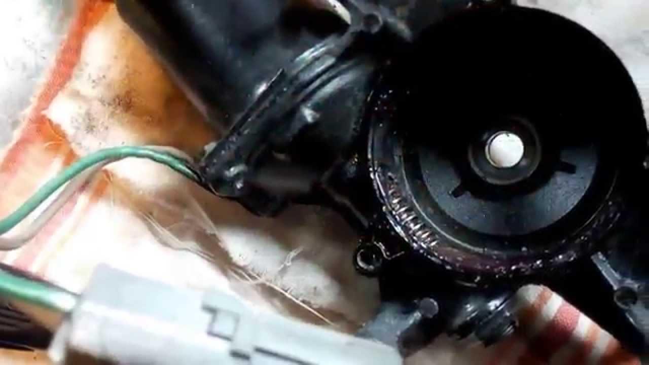 Pontiac Firebird Pop Up Headlight Motor Repair Easy And