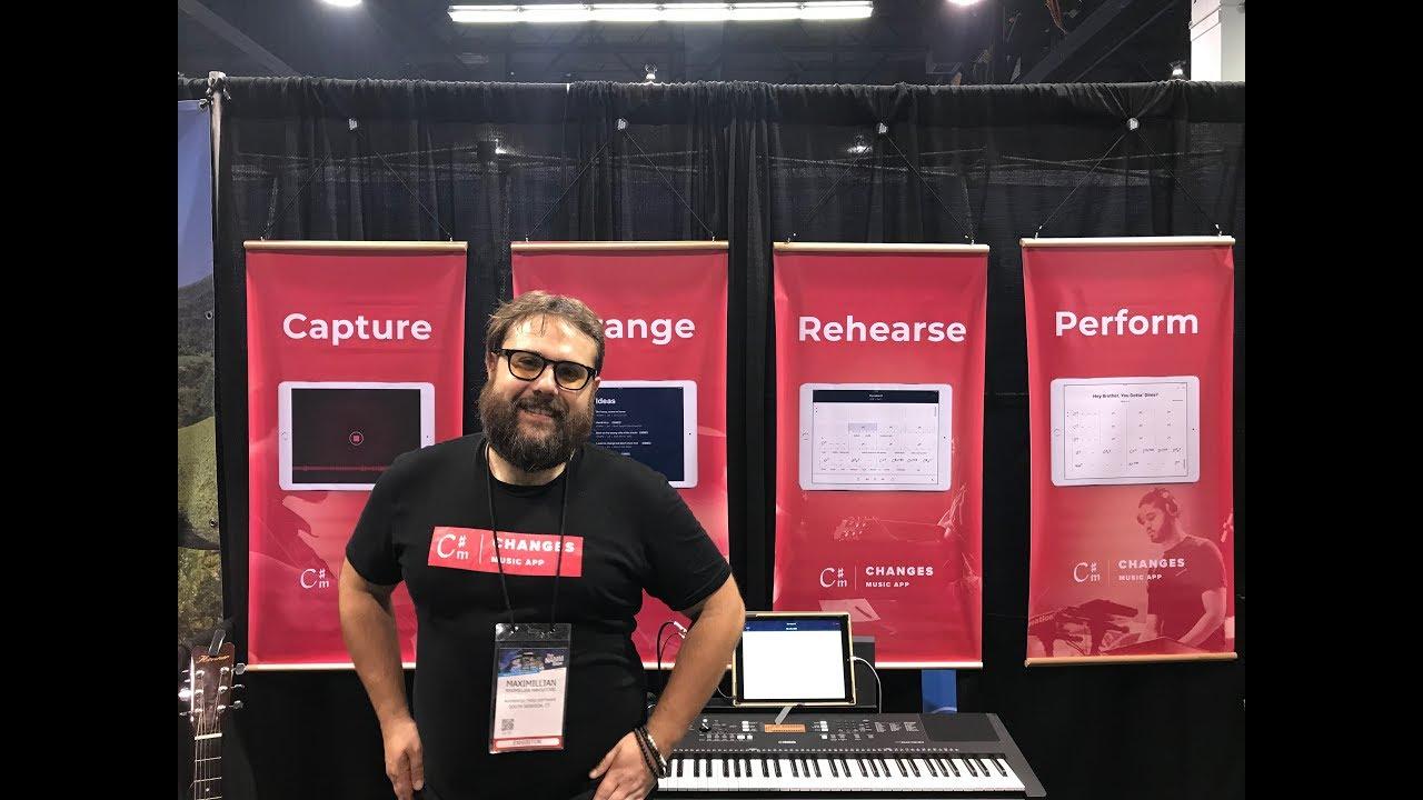 NAMM 2019: Changes, a music transcription app