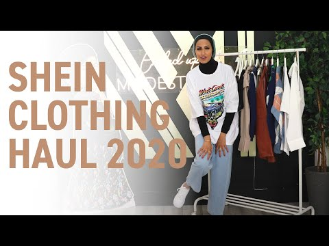 I went a little ARGYLE pattern crazy on this one | Shein Clothing Haul Fall 2020 | MODEST STREET