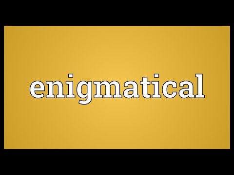 Header of enigmatical