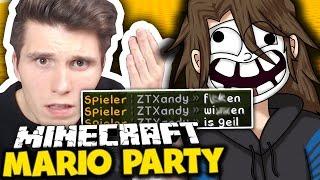 WAS FÜRN VOLLIDIOT! & ICH HAB KEIN BOCK MEHR!  ✪ Minecraft Mario Party mit GLP