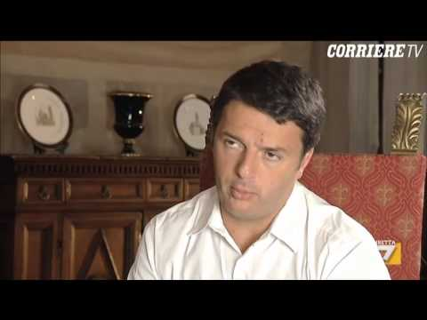 Renzi intervistato da Friedman su Napolitano