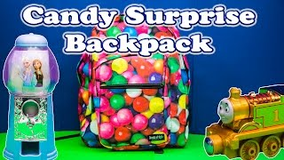 candy surprise the disney frozen candy surprise backpack a candy surprise egg video