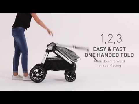 Детская коляска Ocarro Raven 2 в 1 . Видео №1