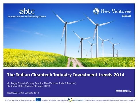 WEBINAR: The Indian Cleantech Industry: Investment trends 2014