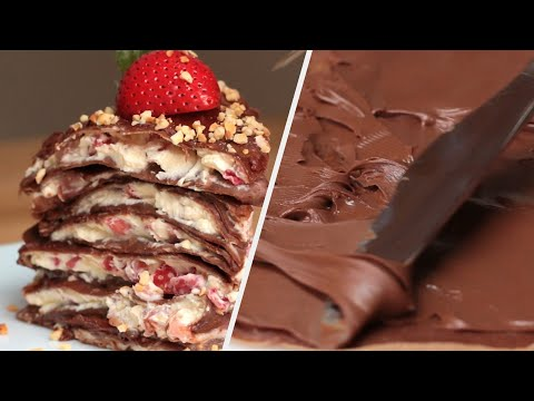5 Unique Crepe Recipes • Tasty