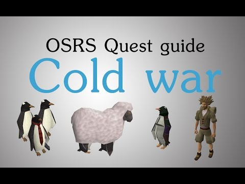 [OSRS] Cold war quest guide
