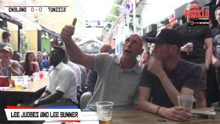 Tunisia 1-2 England | Live World Cup Watch Along With Lee Judges & Lee Gunner