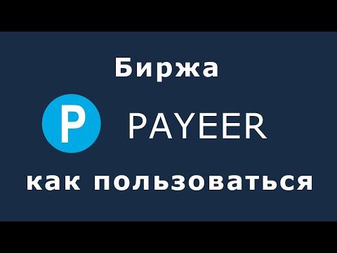 Биржа Payeer - как пользоваться, как выгодно обменивать валюту через платёжную систему Пайер