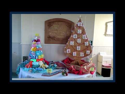 Kirkcudbright Parish Church Christmas Tree Festival 2019