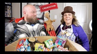 I bought a $5,151 Amazon Customer Returns TOYS Pallet / Mystery Boxes + PART 2 WITH COSTUMES & FUN