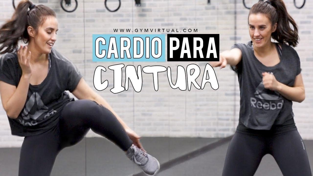rutina de cardio para reducir cintura