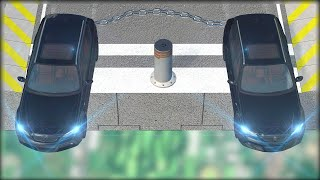 CHAINED UP #8 - Bollard & Spinners - Giant Chain Crashes - BeamNG.Drive Crashes