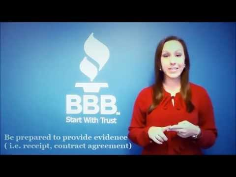 BBB Quick Tips: How to File a Complaint